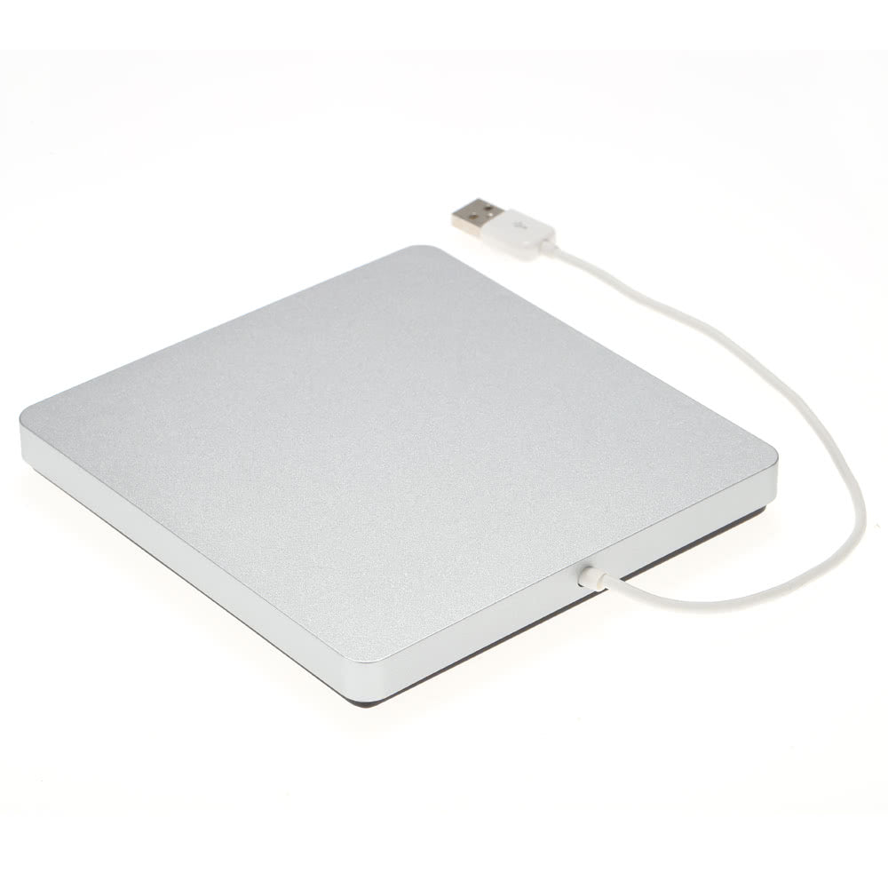 Go2Funlive Usb 2.0 Portable Ultra Slim External Slot-In Cd Dvd Rom Player Drive Writer Burner Reader For Imac/Macbook/Macbook Air/Pro Laptop Pc Desktop