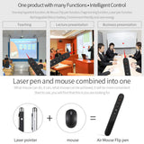 Go2Funlive 2.4Ghz Wireless Air Mouse Flip Pen Laser Pointer 6 Gxes Gyroscope Presenter For Ppt Presentation