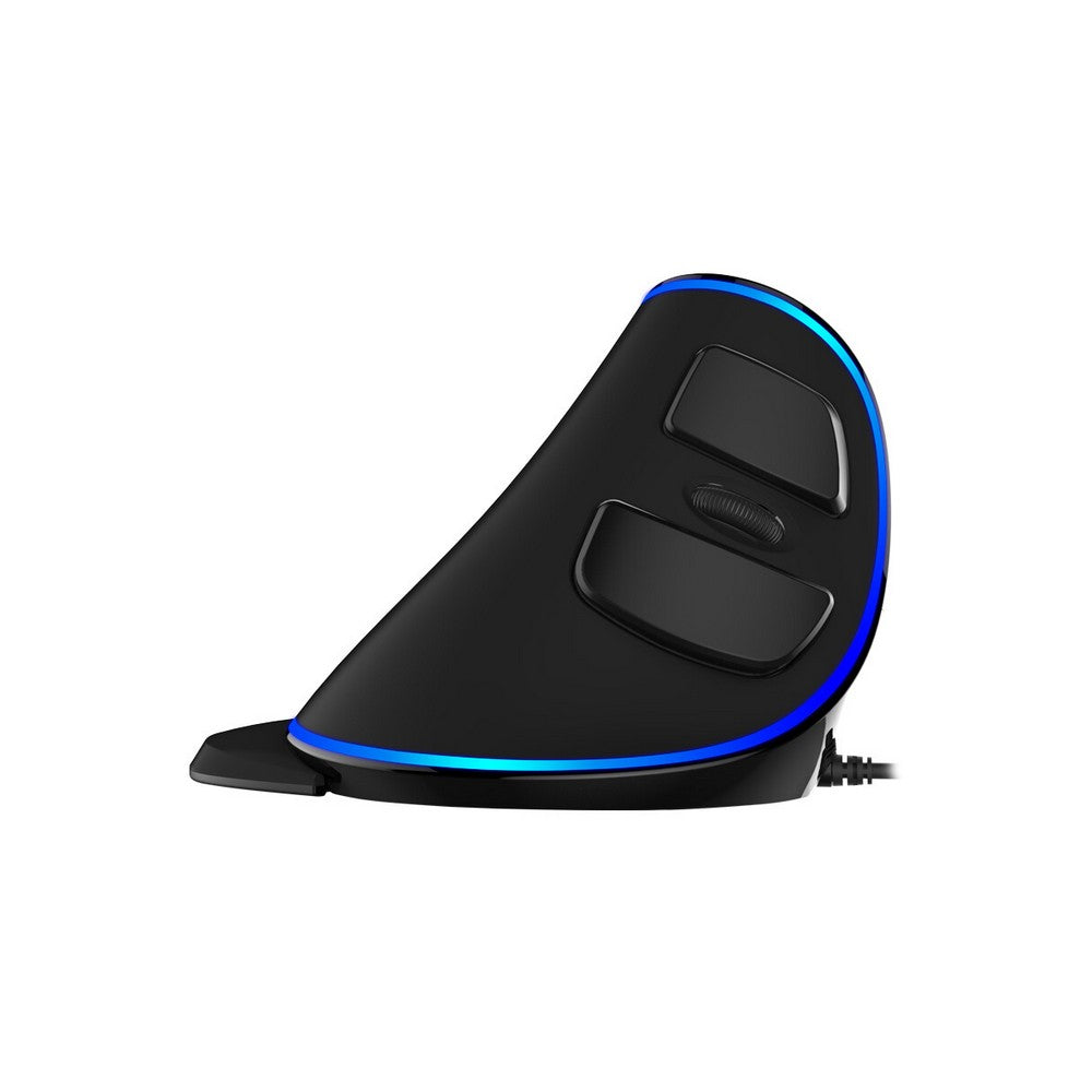 Go2Funlive Delux M618 Plus Blue Light Wired Optical Mouse For Pc Laptop Desktop