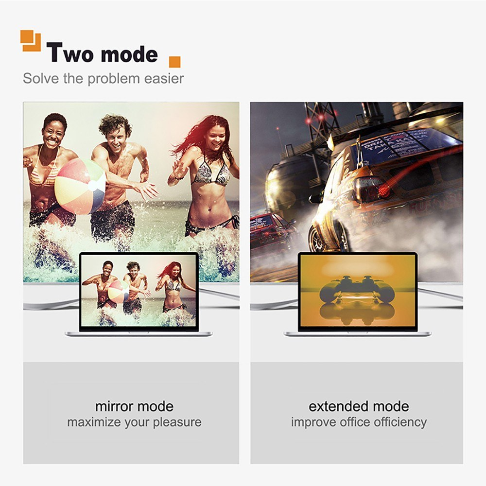 Go2Funlive Cabletime Usb Type-C To Hdmi Cable Thunderbolt 3 Compatible 4 K 60Hz Converter For Hdtv Projector Pc