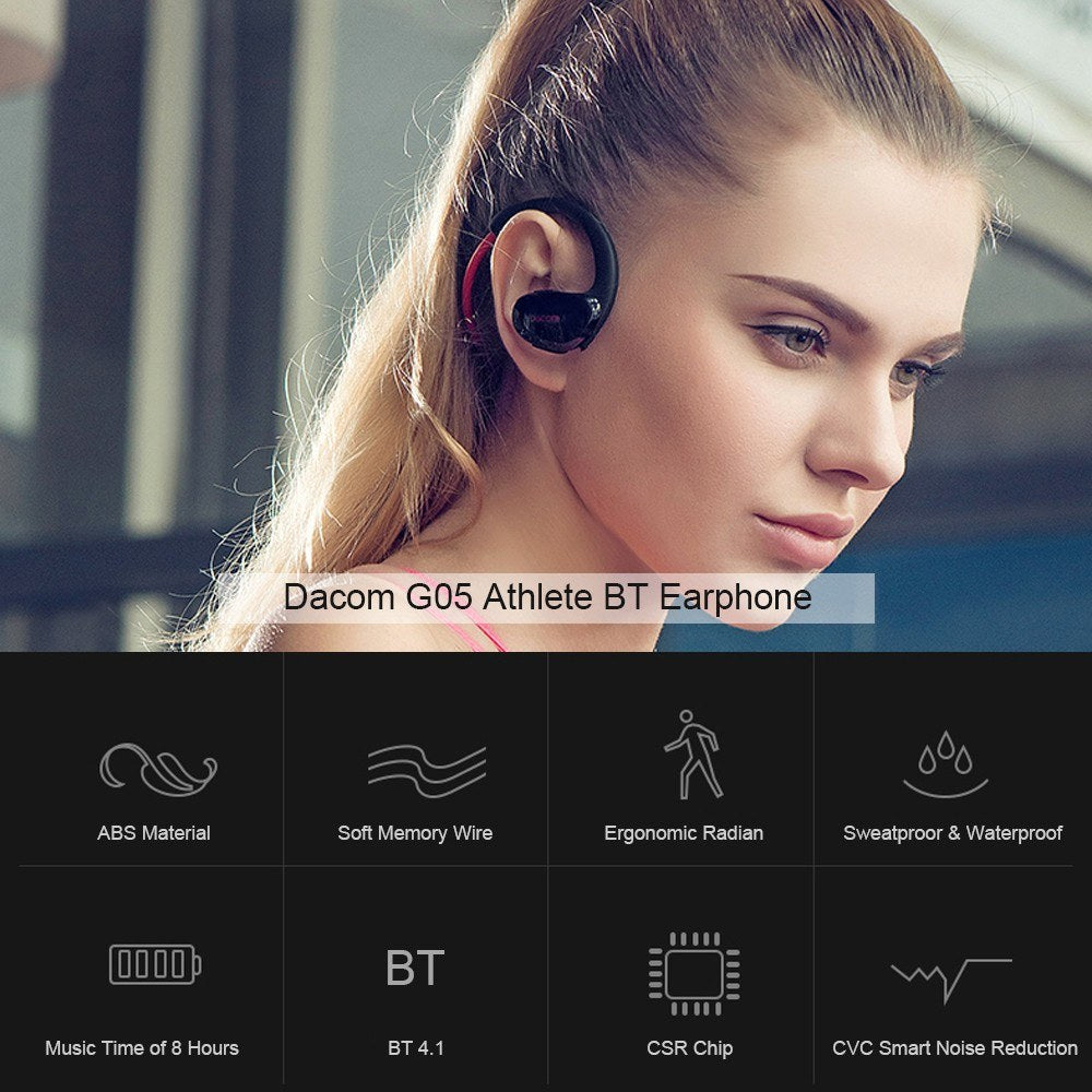 Go2Funlive Dacom G05 Athlete Bt Earphone Bt 4.1 Wireless Headphone Sport Headset Stereo With Mic Nfc For Ios Andrioid