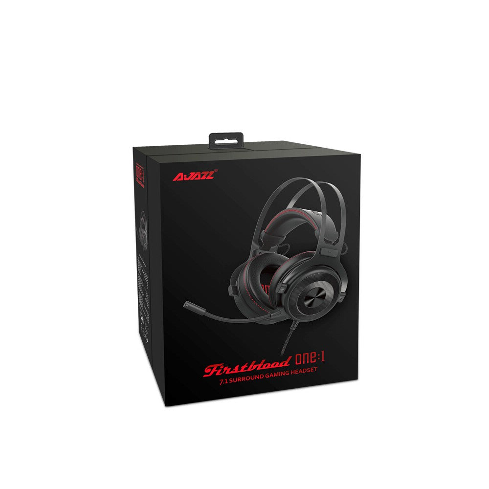 Go2Funlive Ajazz The One Wired Gaming Headphone 7.1 Surround Sound Headset 3.5Mm Plug With Mic For Ps4 Pc Laptop