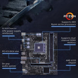 Go2Funlive Colorful A320M-K Pro Yv14 Igame Motherboard Gaming Mainboard For Socket Am4 Ddr4 Usb3.0 Sata3.0 6Gb/S