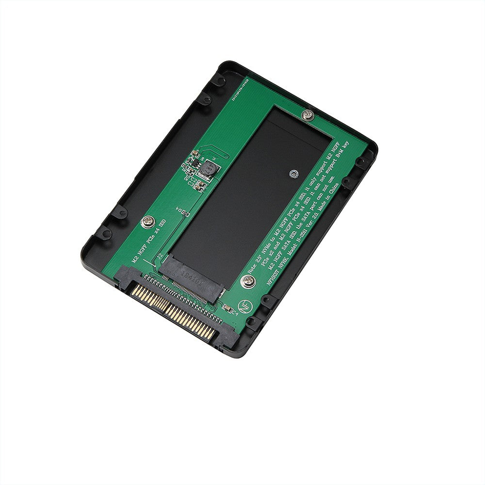 Go2Funlive 2.5In Nvme/Pci-E Ssd To M.2 Ngff Pcie X4 Ssd Adapter Enclosure Pci Express Ssd Adapter Card