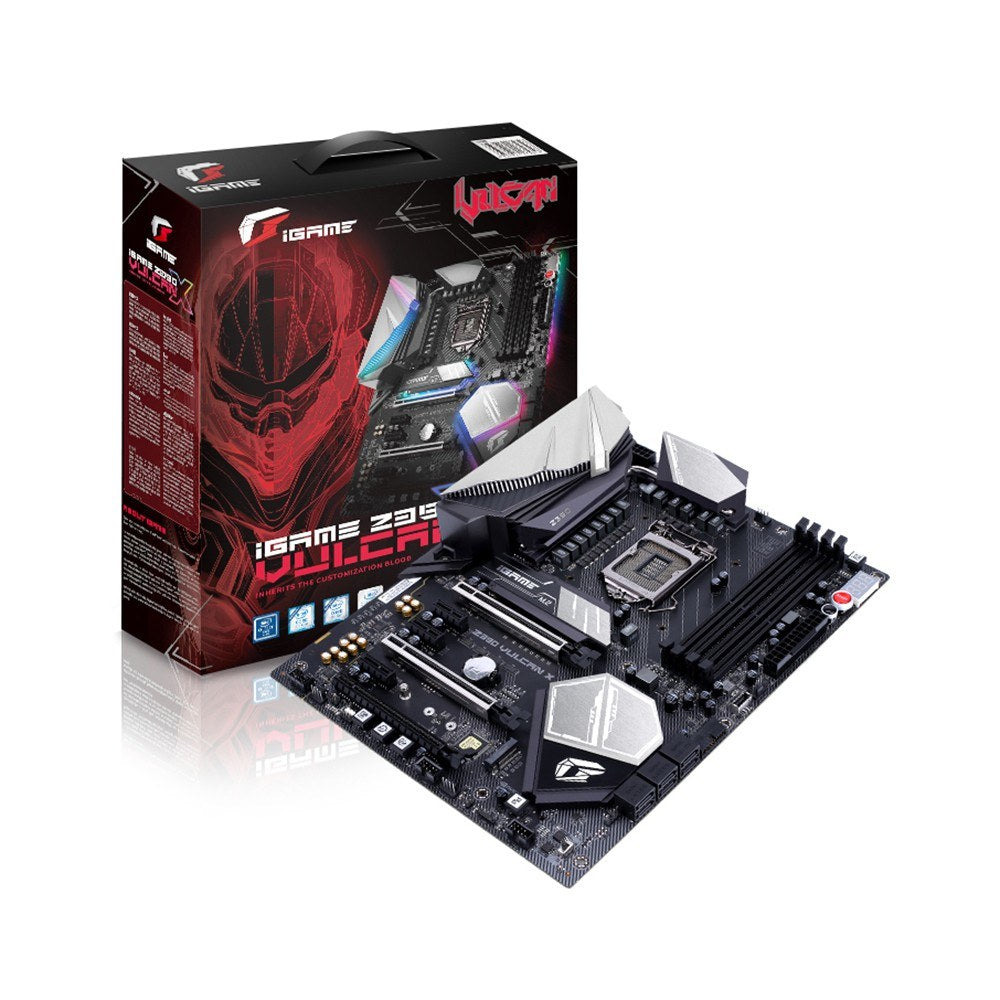 Go2Funlive Colorful Igame Vulcan X V20 Intel Z370 Lga 1151 Motherboard Mainboard Ddr4 Sata 6Gb/S