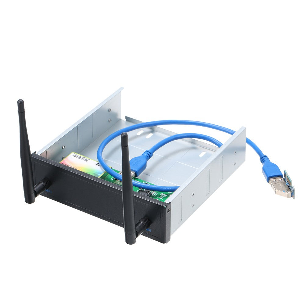 Go2Funlive Usb 3.0 Pre-Drive Wireless Network Card Cd-Rom Expansion Mobile Rack With  600Mbps High Speed Support Dual Band