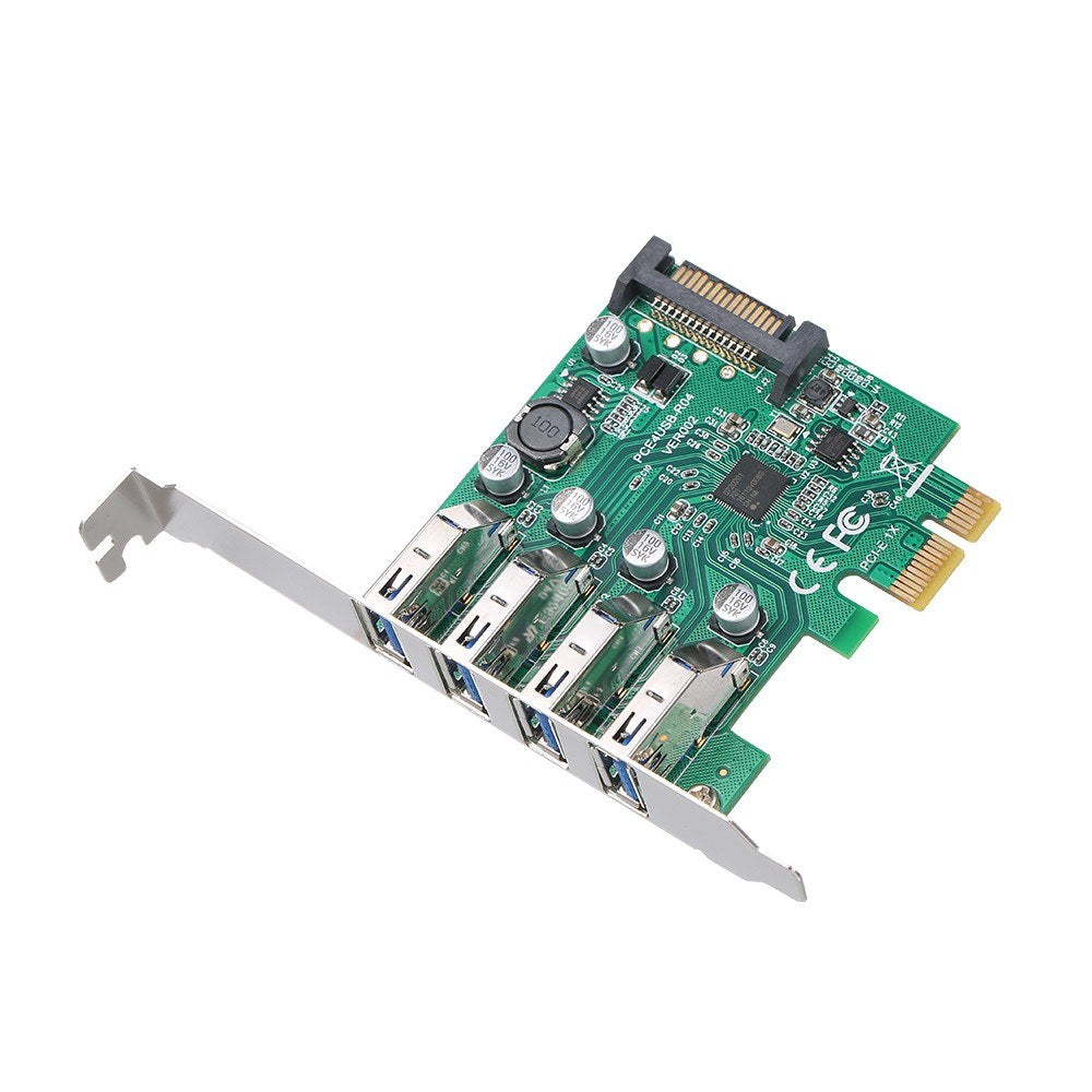 Go2Funlive Pci-E To Usb3.0 Expansion Card Pci-E Adapter Card With Bracket