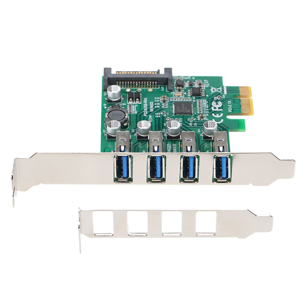 PCI-E to USB3.0 Expansion Card PCI-E Adapter Card with Bracket