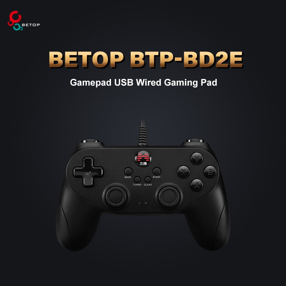 Betop BTP-BD2E Gamepad USB Wired Gaming Pad Game Pad with Joystick Controller for PC PS3 Android
