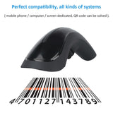Go2Funlive Rf1000G Wireless Barcode Scanner Handheld Wechat Scanner Reader For Mobile Payment Computer Screen Supermarket Retail Store Warehouse