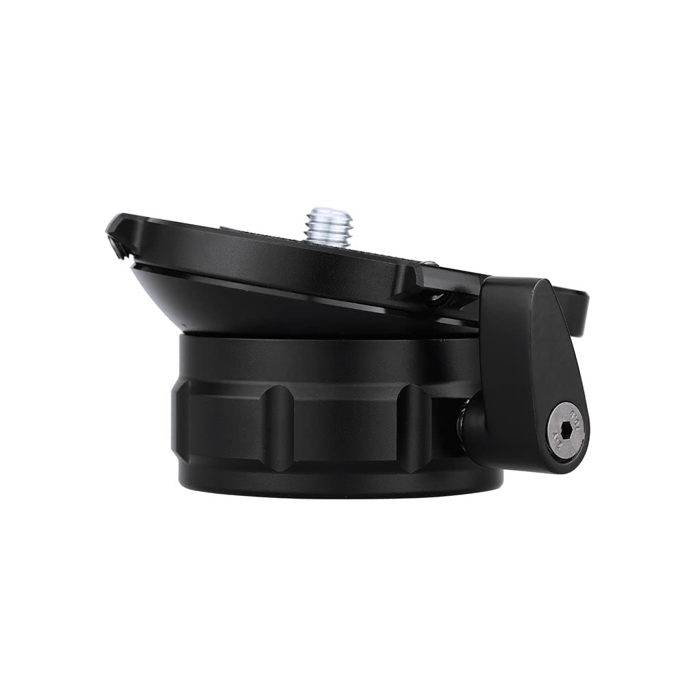 Go2Funlive 69Mm Speedy Adjustable Leveling Base Panning Level With Offset Bubble Level For All Tripods With 1/4 Inch 3/8 Inch Thread