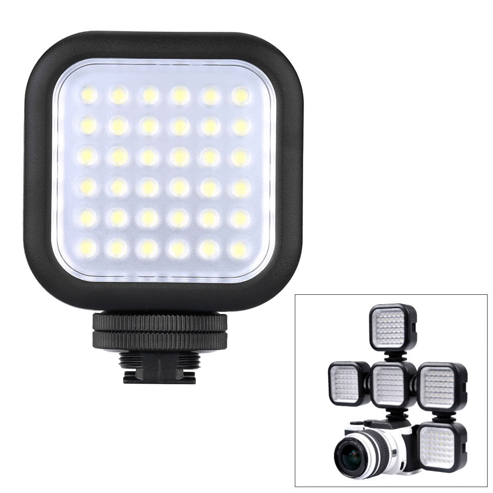 Go2Funlive Godox Led36 Video Light 36 Led Lights For Dslr Camera Camcorder Mini Dvr