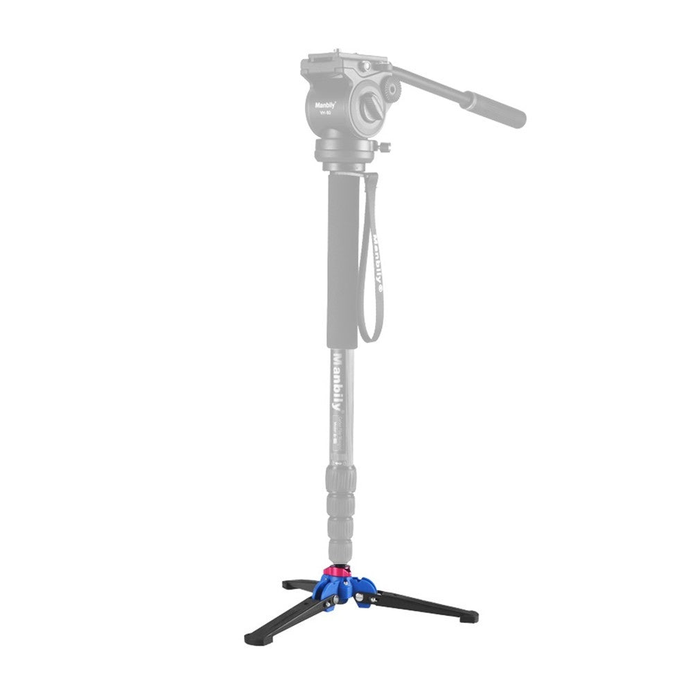 Three Leg DSLR Camera Photography Mini Tripod Monopod Unipod Base Stand Holder Support with 3/8 inch Screw for Tripod Fluid Ball Head