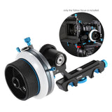 Go2Funlive Fotga Dp500Iii Follow Focus Ff A/B Hard Stop W/ Speed Crank Handle 0.8M Gear Set For 15Mm Rod Rig Video Film Making System