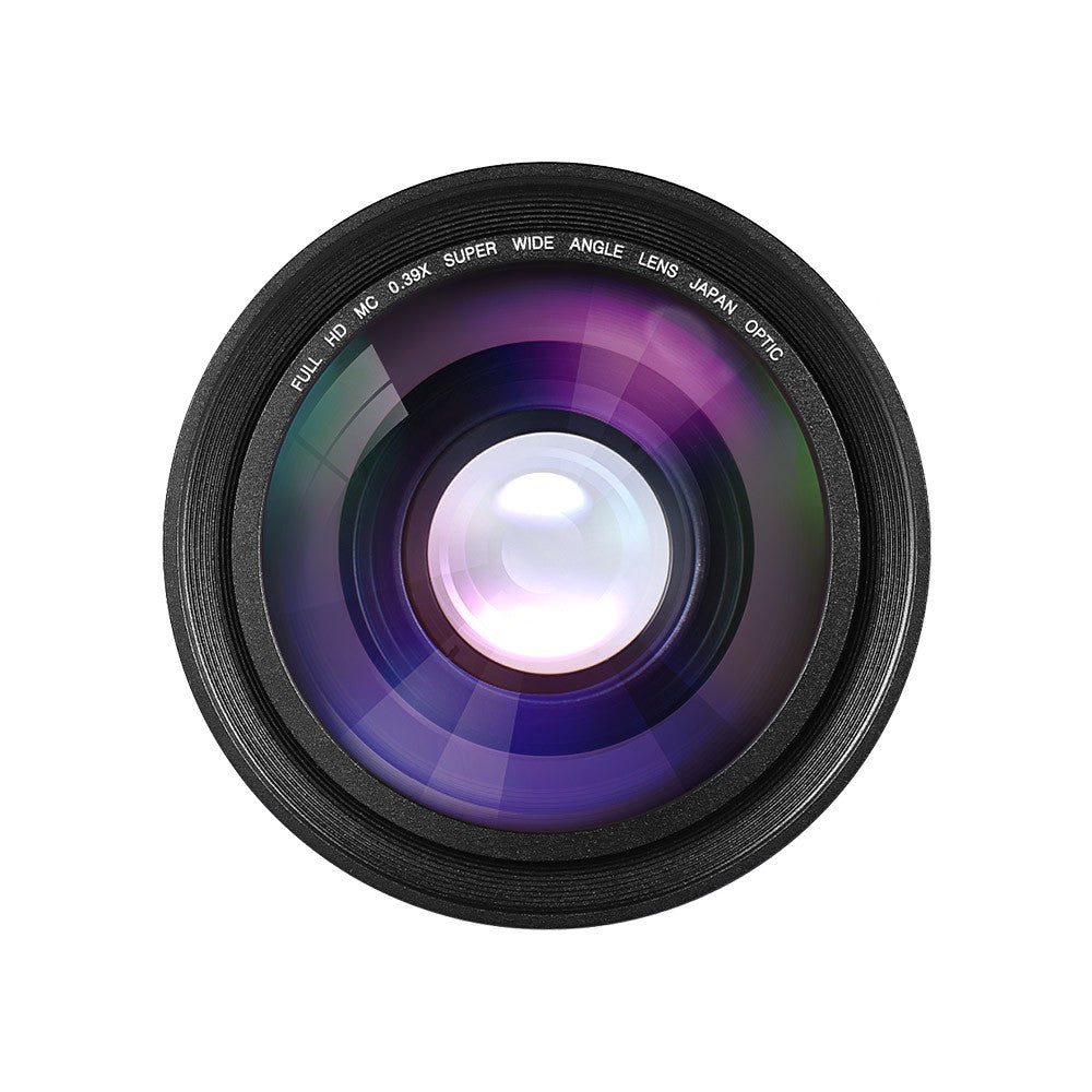 Go2Funlive 30Mm 37Mm 0.39X Full Hd Wide Angle Macro Lens For Ordro Andoer Digital Video Camera Camcorder