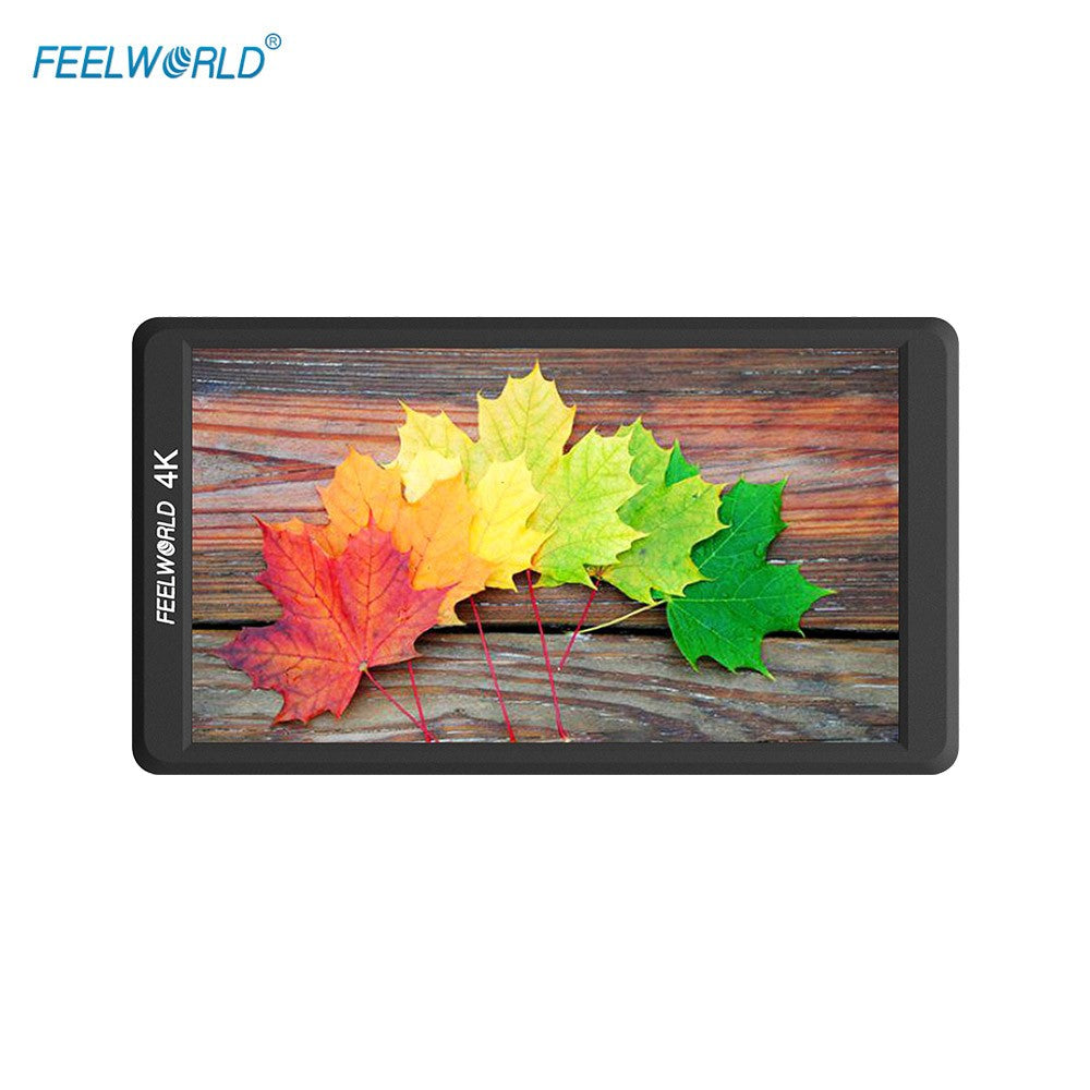 Go2Funlive Feelworld F570 4K 5.7 Inch Ultra-Thin Portable On-Camera Field Monitor