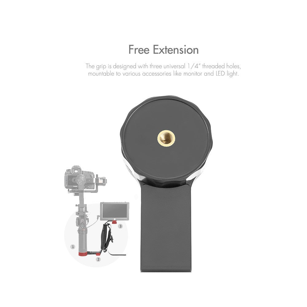 Go2Funlive Zhiyun Shh-01 Transmount Mini Dual Grip For Crane 2 For Hohem Isteadygear 3-Axis Handheld Gimbal