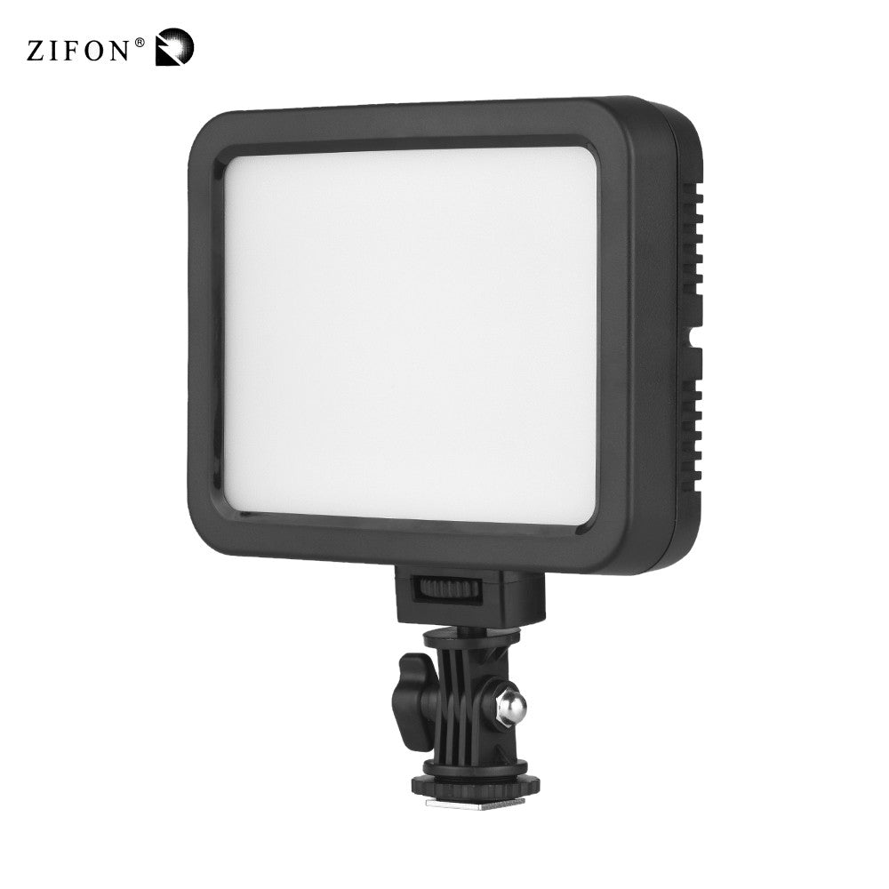 Go2Funlive Zifon Zf-C139 Color Video Light White+Rgb Photography Dimmable Fill Light 360 Different Colors 3200K-5700K Ra95 1500 Lumens For Canon Nikon Sony Dslr Camera Camcorder