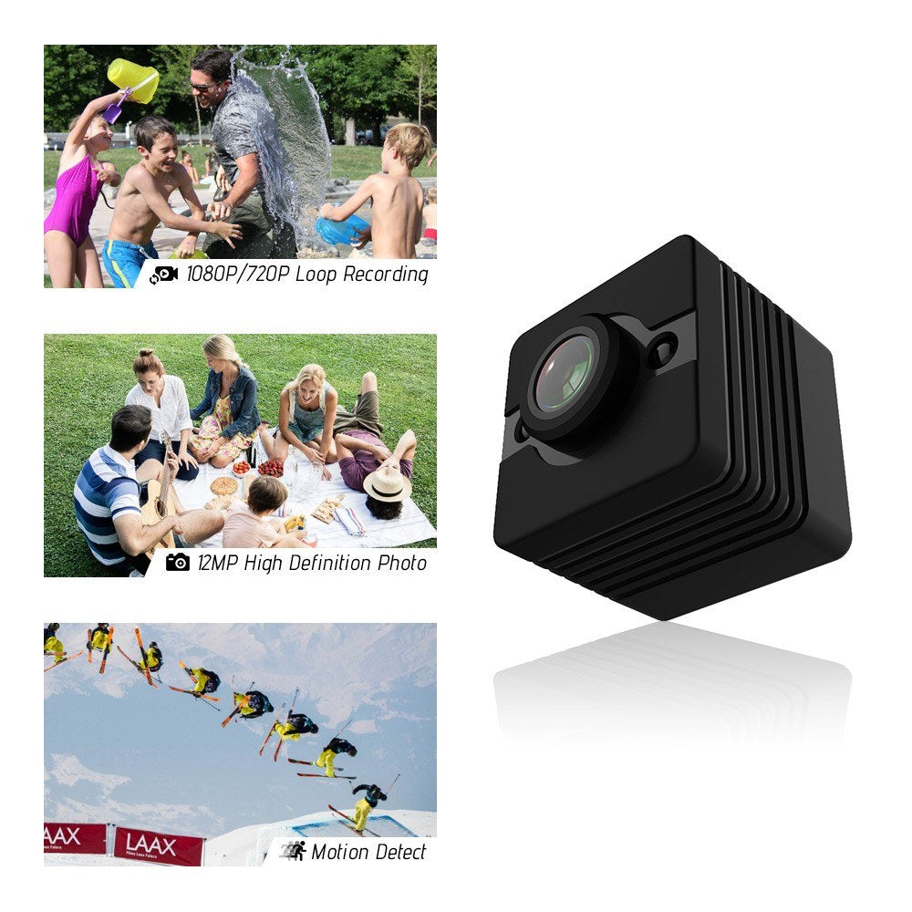 Go2Funlive Hd 1080P Waterproof Camera Video Recorder