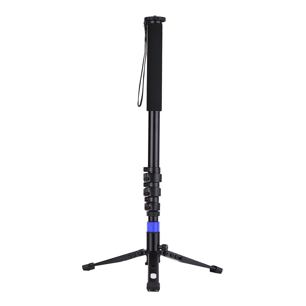Go2Funlive Aluminum Alloy Flip Lock Monopod With Unipod Holder 1/4 3/8 Inch Screw Mounts For Dslr Ildc Camera Camcorder Dv 4-Sections Up To 67 Inch Max. Load Capacity 5Kg