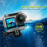 Go2Funlive Puluz Transparent Diving Waterproof Case Protective Cover Shell Underwater Housing Case Dustproof Shockproof 360¡ã Full Protection For Dji Osmo Acition Camera