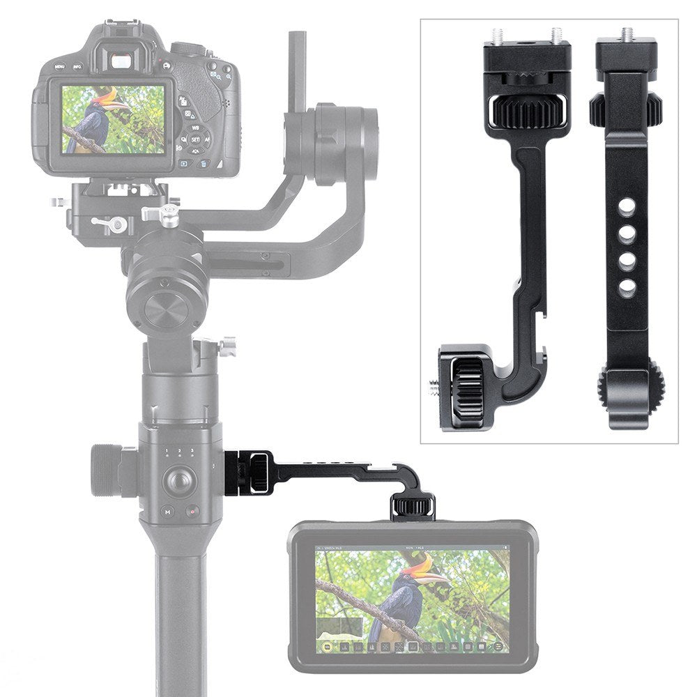Go2Funlive Stabilizer Extension Bracket Monitor Expansion Arm Aluminum Alloy