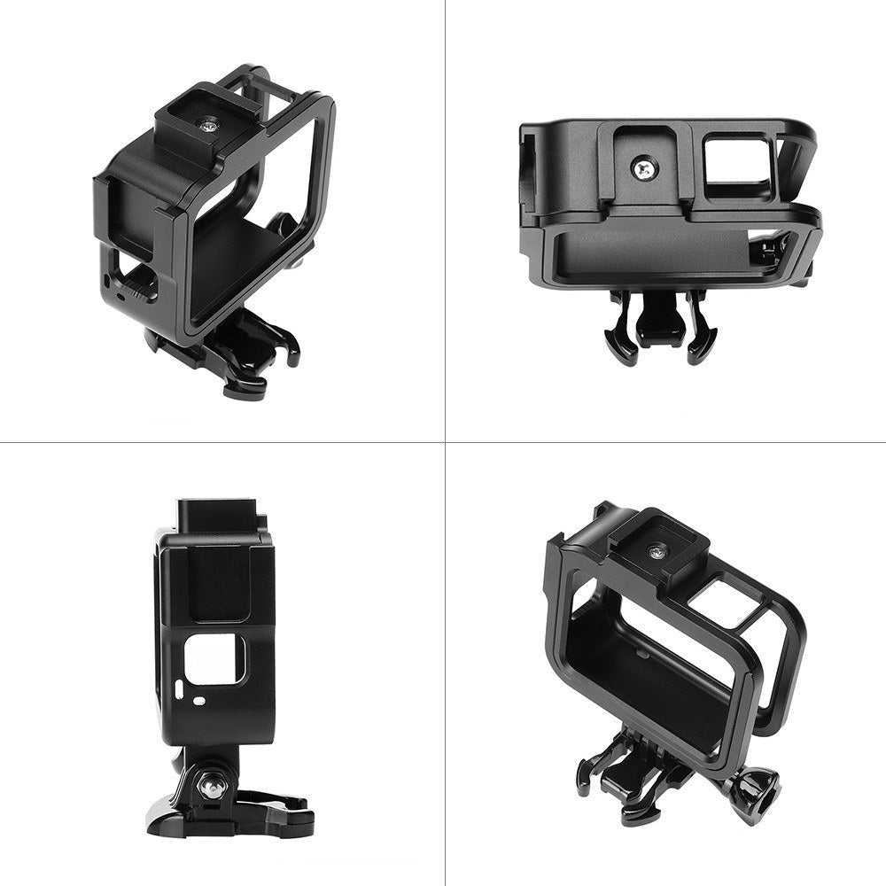 Go2Funlive Aluminum Alloy Camera Protective Frame Housing Shell Compatible With Gopro Hero 8 Black Camera