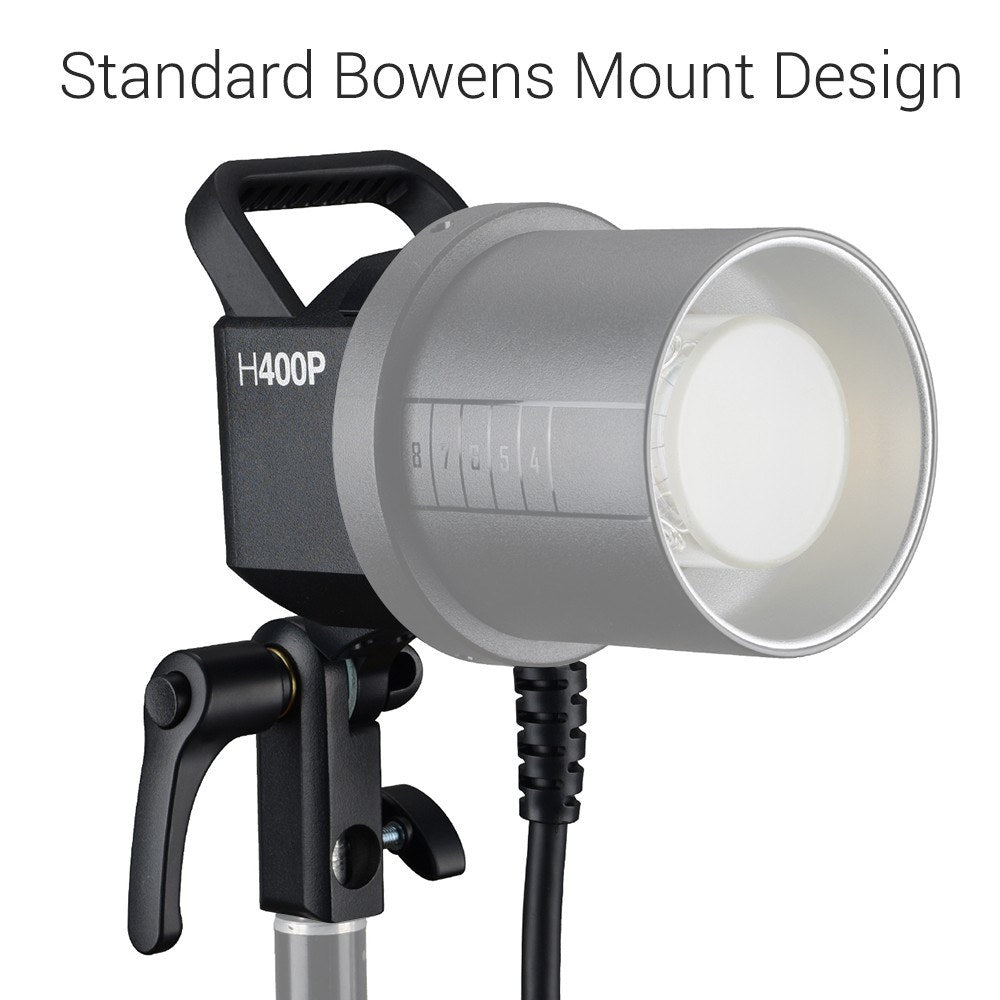 Godox H400P Flash Head Bowens Mount Off-Flash Handheld Extension Head for Godox WITSTRO AD400Pro Flash Strobe
