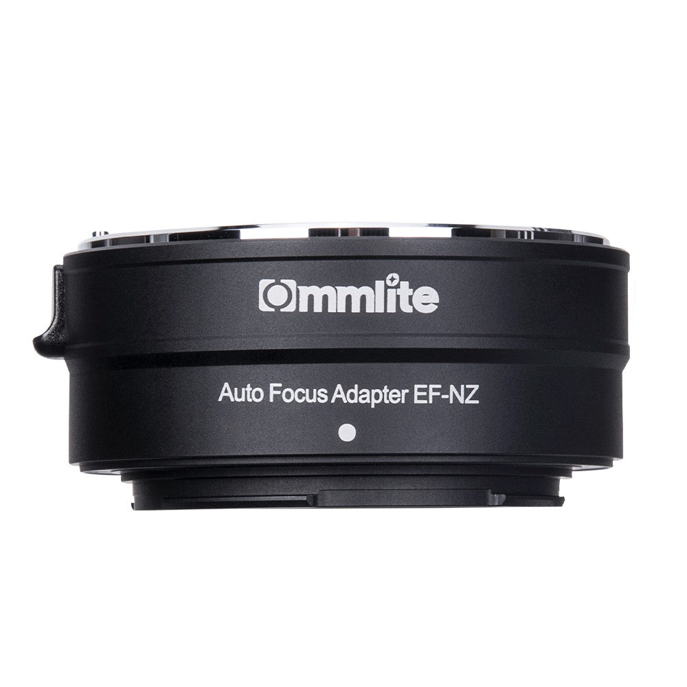 Commlite CM-EF-NZ Lens Mount Adapter Ring AF Auto Focus IS Anti-Shake Aluminum Alloy with Tripod Mount Compatible with Canon EF/EF-S Lens to  Nikon Z6/Z7/Z50 Z-Mount Mirrorless Camera