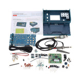 Go2Funlive Lcd Digital Storage Oscilloscope/Frequency Meter Diy Kit With Professional Bnc Probe Usb Interface Dso 20Msa/S 3Mhz
