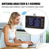 Go2Funlive Max600 Plus Hf Vhf Uhf Antenna Analyzer 0.1-600Mhz With 4.3 Inch Tft Lcd Touching Screen