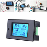 Go2Funlive Ac80-260V 100A Digital Lcd Current Voltage Active Power Energy Detection Tester Ammeter Voltmeter Multi-Functional Meter