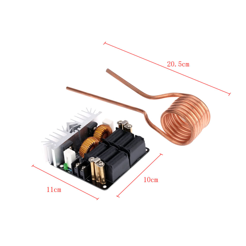 Go2Funlive Low Zvs 12-48V 20A 1000W High Frequency Induction Heating Machine Module