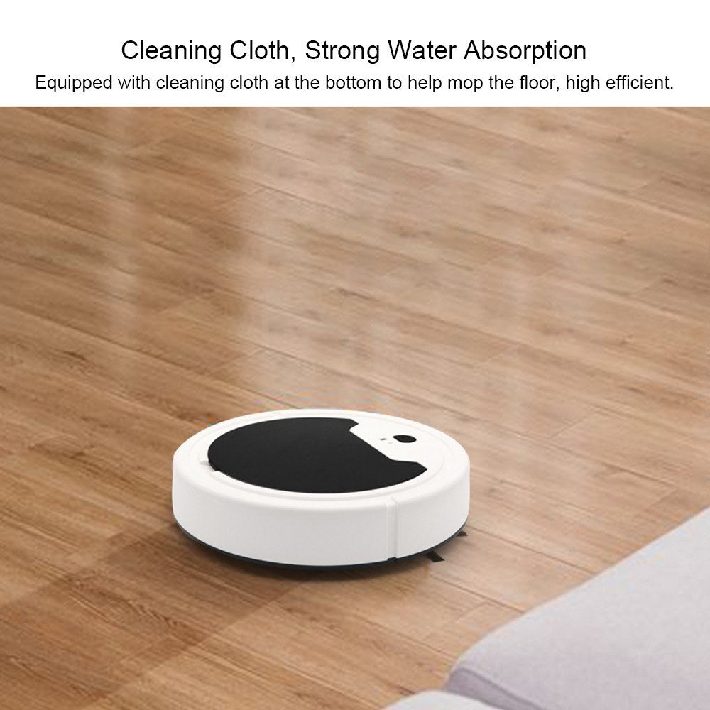Go2FunLive Electric Robotic Vacuum Cleaner Rechargeable Intelligent Robot Sweeping Machine Automatic Movable Floor Sweeper Home Cleaning Tool
