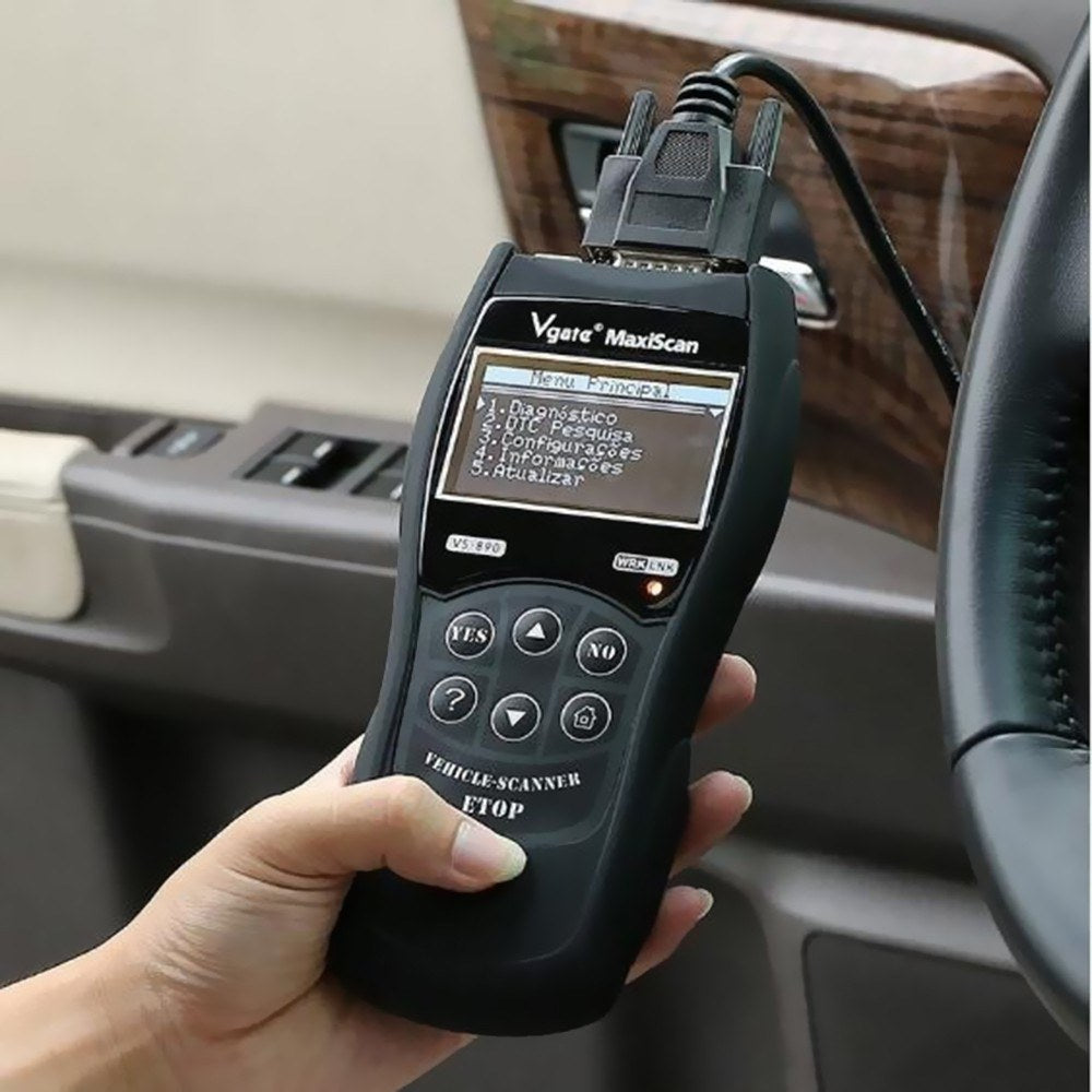 Go2Funlive Vgate Vs890 Car Diagnostic Tool Auto Scanner