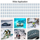 Go2Funlive 100Pcs Car Stud Screw Anti Slip Tire Screw Wheel Winter Snow Tire Spikes 12Mm For Car Motorcycle Automotive