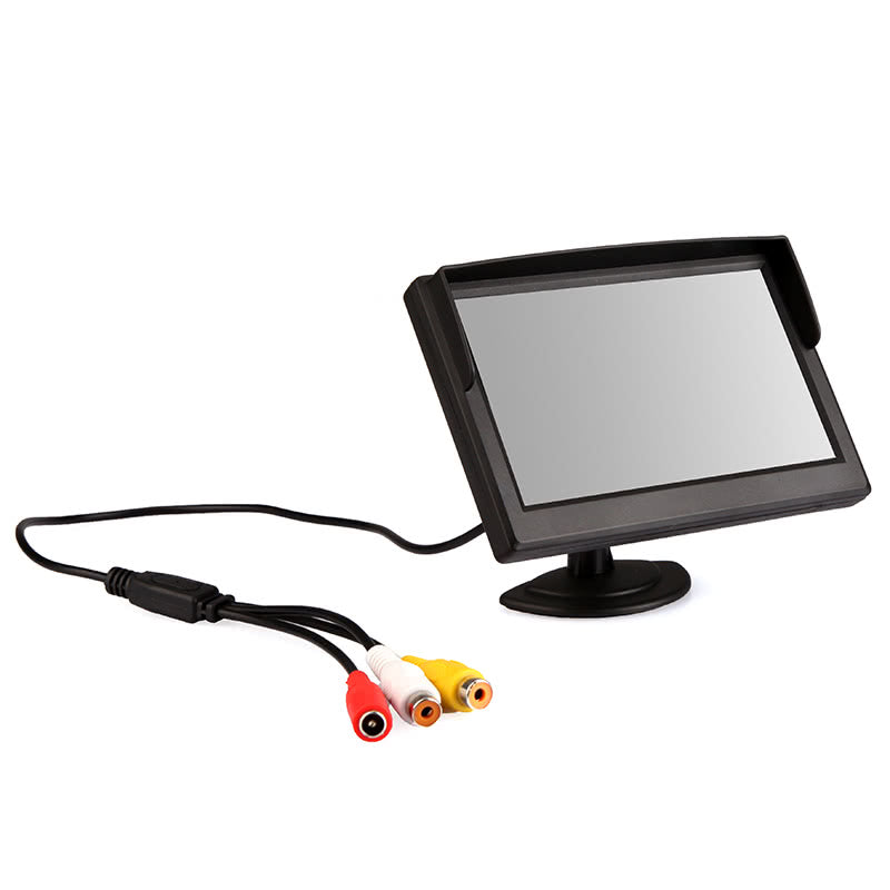 5 inch Digital Color TFT LCD Car Reverse Monitor for Rearview Camera DVD VCR