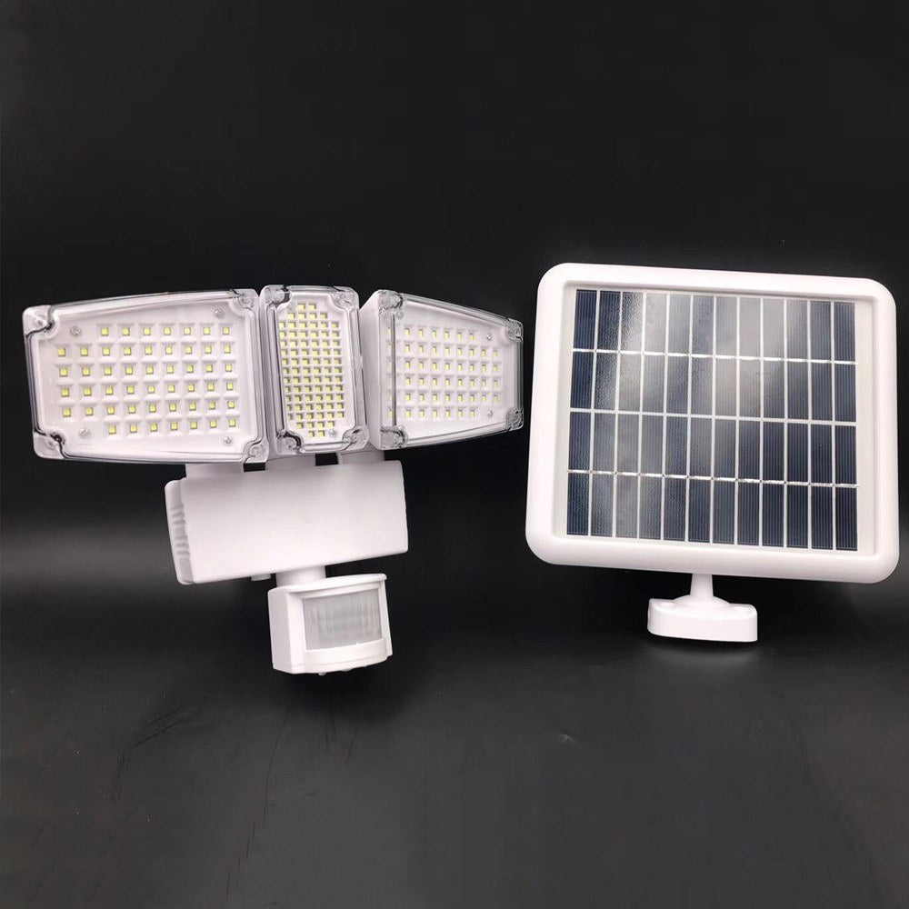 Go2Funlive Solar Power Sensor Outdoor Indoor High Brightness Waterproof Home Garden Yard Wall Light