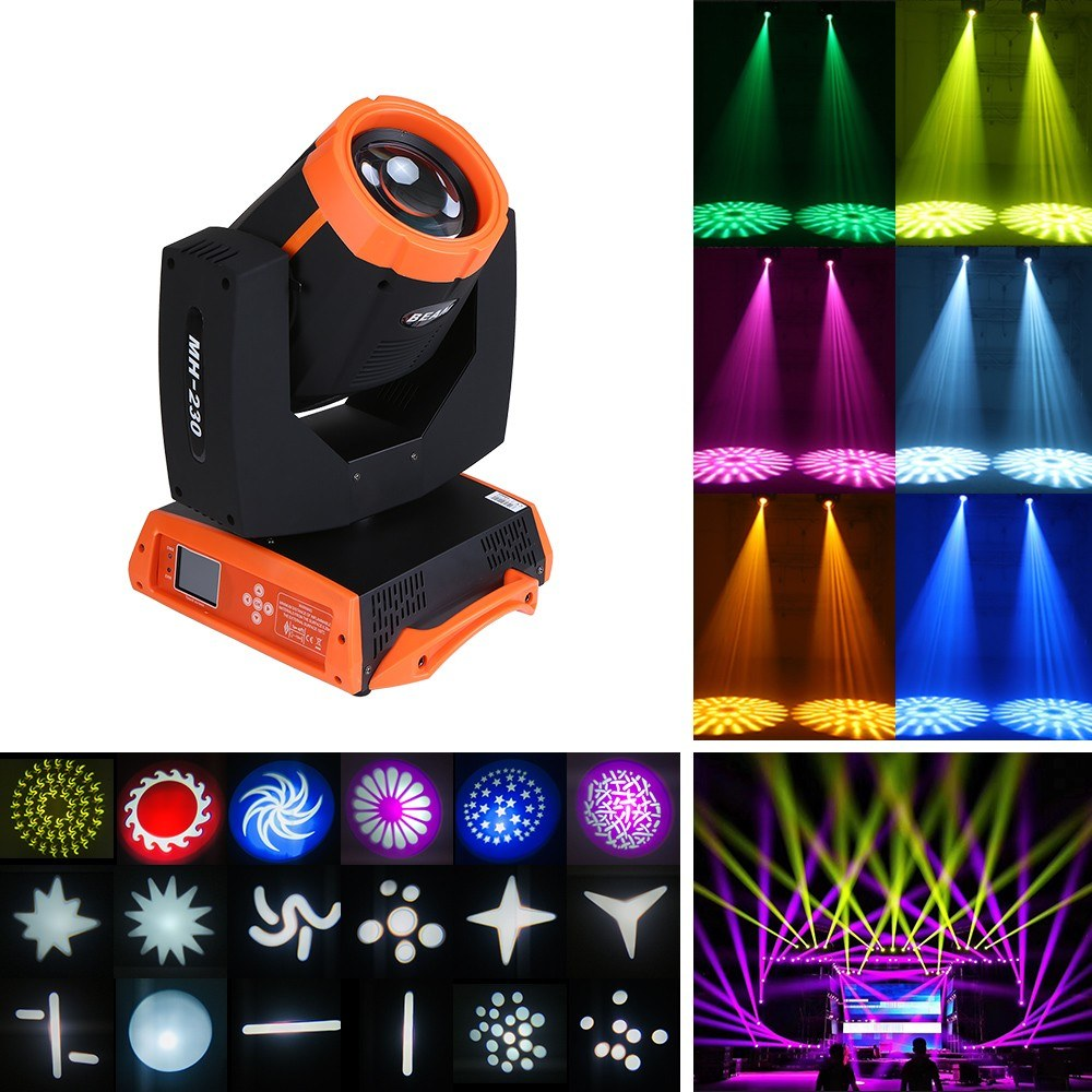 Go2Funlive 230W Rgbw Dmx512 Moving Heads Stage Light