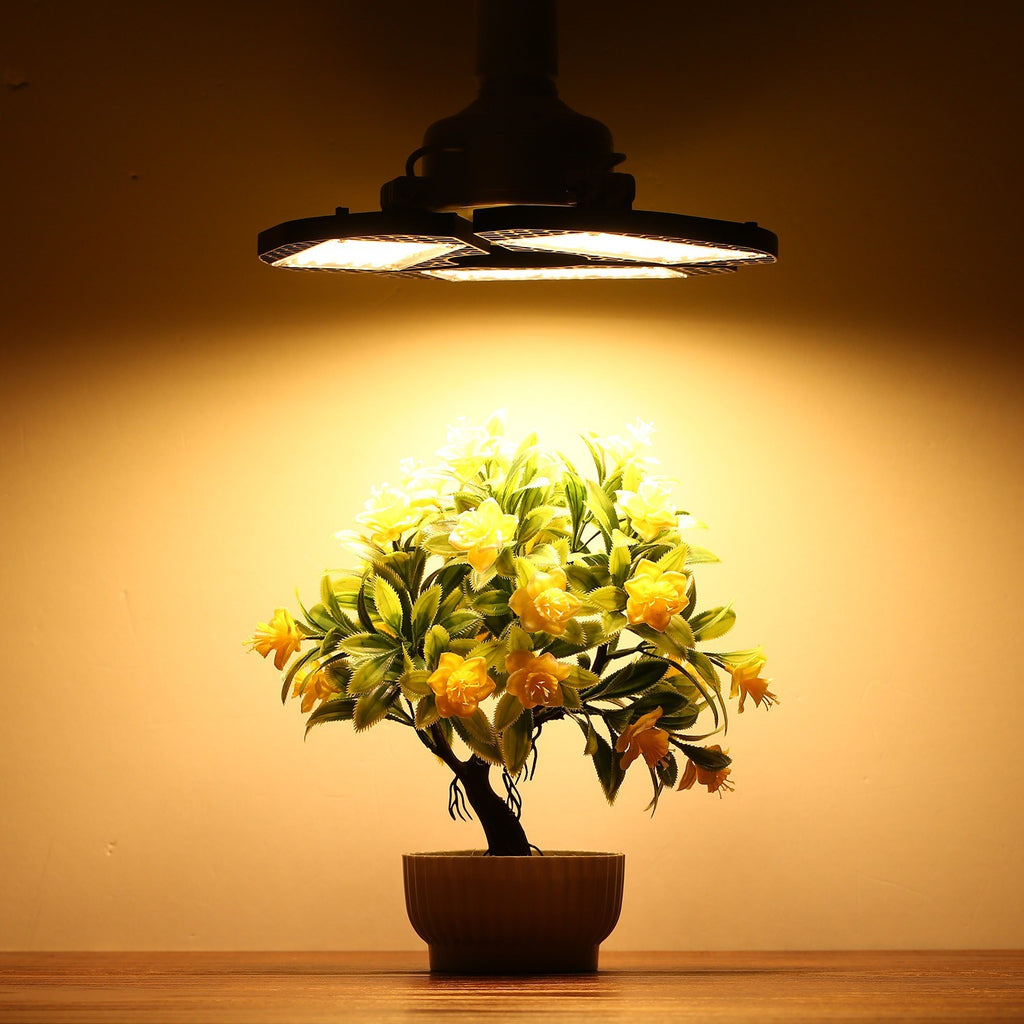 Go2Funlive Foldable 270 Leds Plant Growth Light Full Spectrum Growing Lamp For Indoor Hydroponic Plant Flower