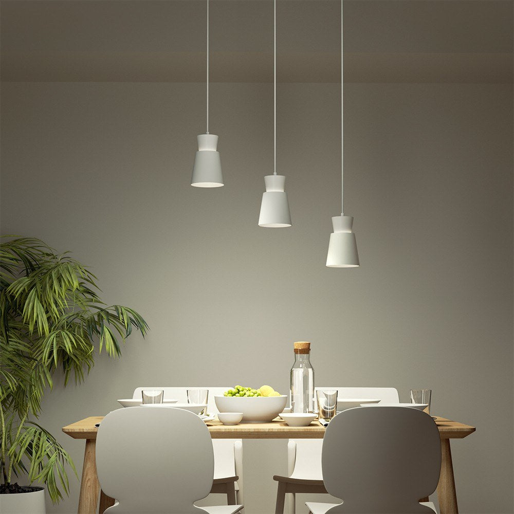 Go2Funlive Yeelight Three-Head E27 Universal Dining Table Pendants Light Ac220-240V Chandelier Lamp Height Adjustable Support Voice Control For Dining Room Restaurant Coffee