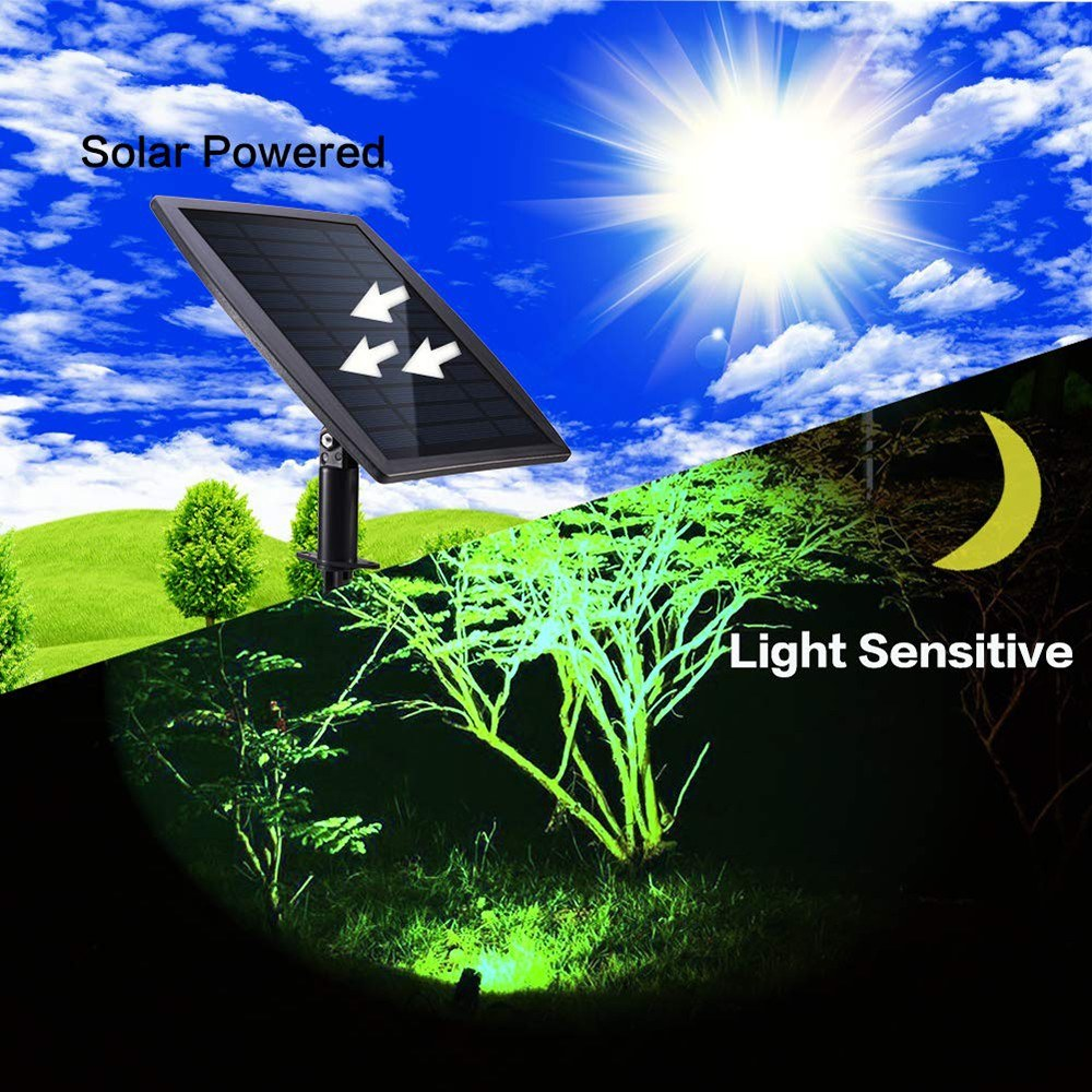 Go2Funlive Solar Pond Light Spotlights Underwater Ip68 Waterproof Solar Powered Light With 3 Lamps Outdoor Landscape Lighting Rgb Colorful Light For Garden Pool Pond