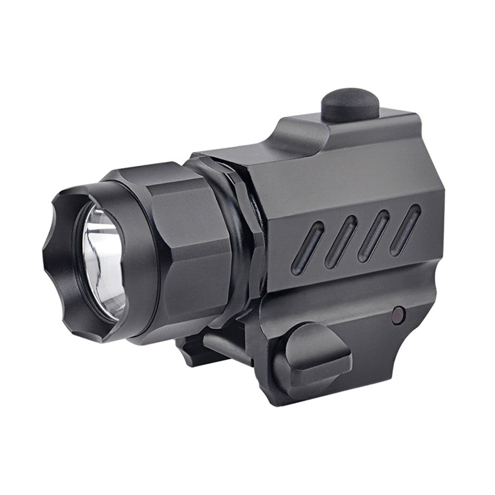 Go2Funlive L-Ed T-Actical Handgun Torch Lamp P-Istol Flashlight 230Lm 2 Working Modes For Shooting Fishing Cycling Hiking Training