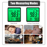 Go2Funlive Non-Contact Ir Infrared Thermometer Forehead Digital Temperature Measurement Lcd Digital Display Fast Measure Infrared Thermometer For Baby Kids Adult