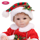 Go2Funlive 16Inch Girl Soft Body Silicone Realistic Baby Doll Play House Game Toys