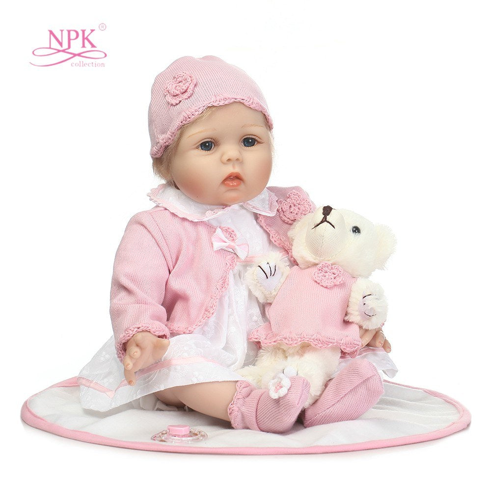 Go2Funlive 21In Reborn Baby Rebirth Doll Kids Gift Cloth Material Body