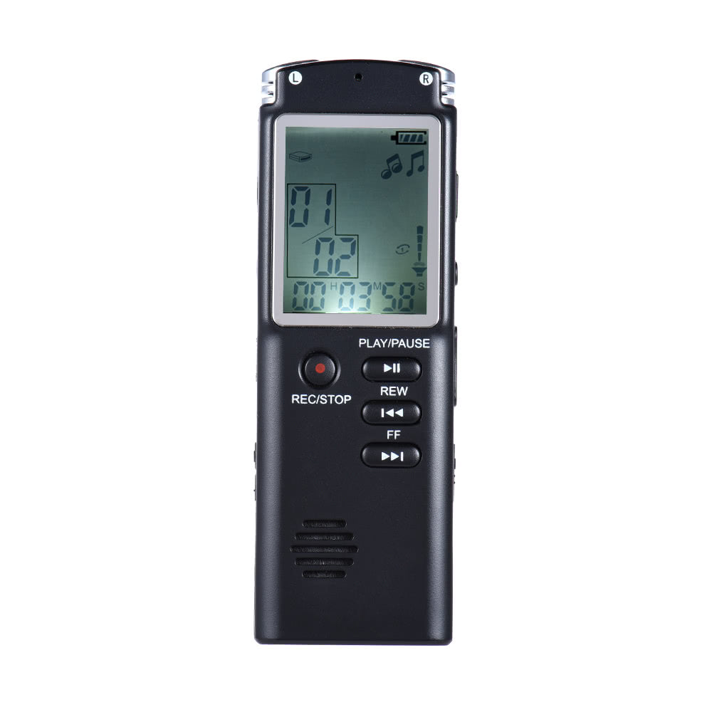 Go2Funlive Sk-301 8Gb 1536Kbps Audio Voice Recorder Mp3 Music Player Dictaphone Voice Activate(Var) A-B Repeating Telephone Conversation Recording