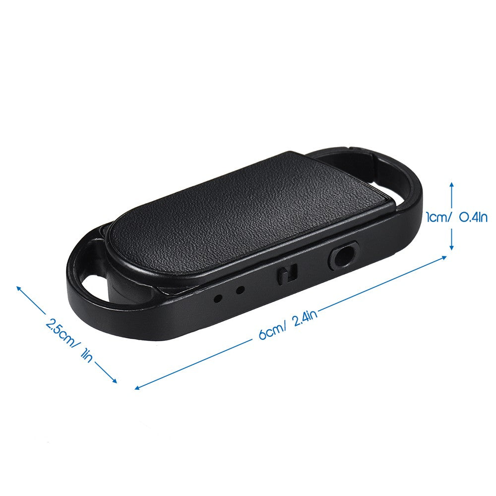8GB Portable Voice Recorder USB Disk Key Ring Style Audio Dictaphone MP3 Player Rechargeable