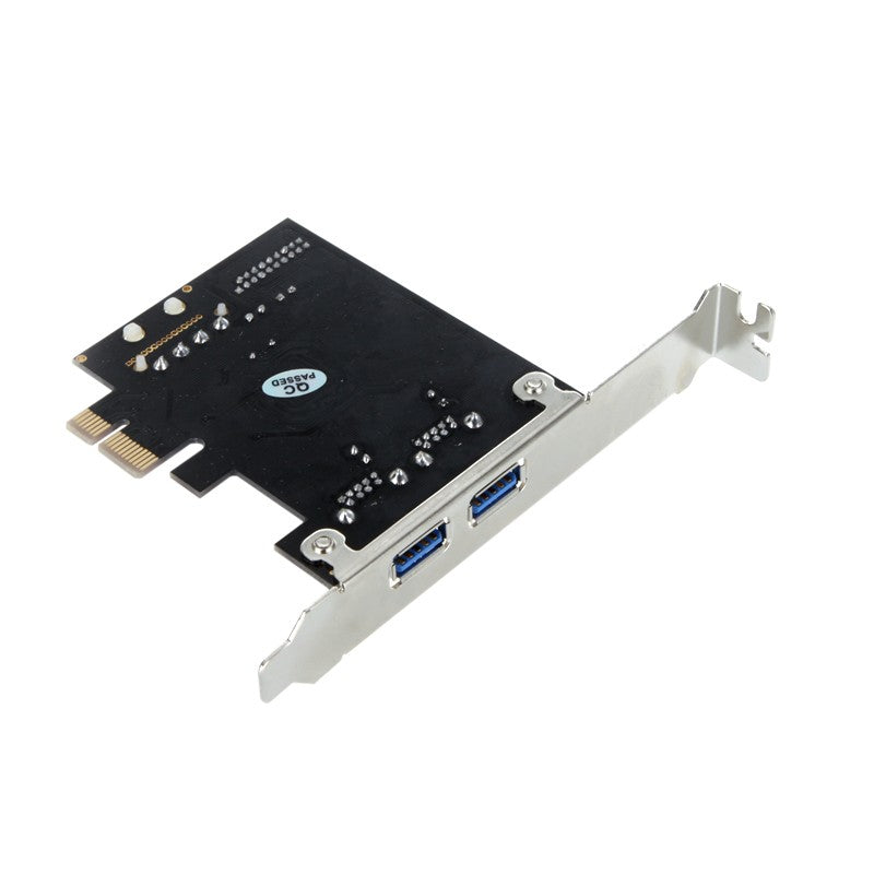 SuperSpeed 2-Port USB 3.0 PCI-E PCI Express 19-pin USB3.0 4-pin IDE Connector Low Profile