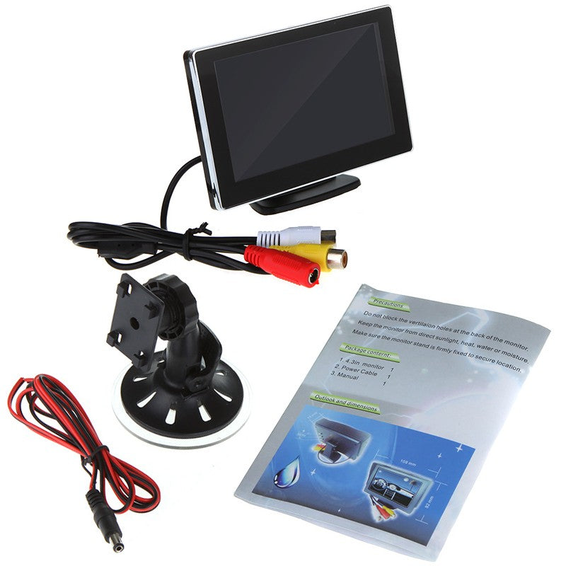 Go2Funlive 4.3 Inch Car Lcd Monitor
